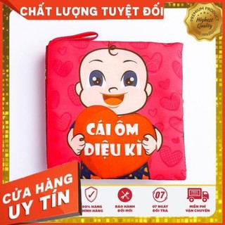 Sách vải cái ôm diệu kỳ – sách vải cho bé – đồ chơi sạch Fiotoys