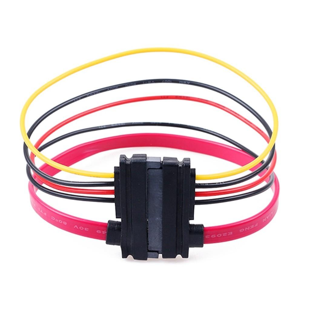 Cáp nối dài SATA + Power - cáp sata nối dài