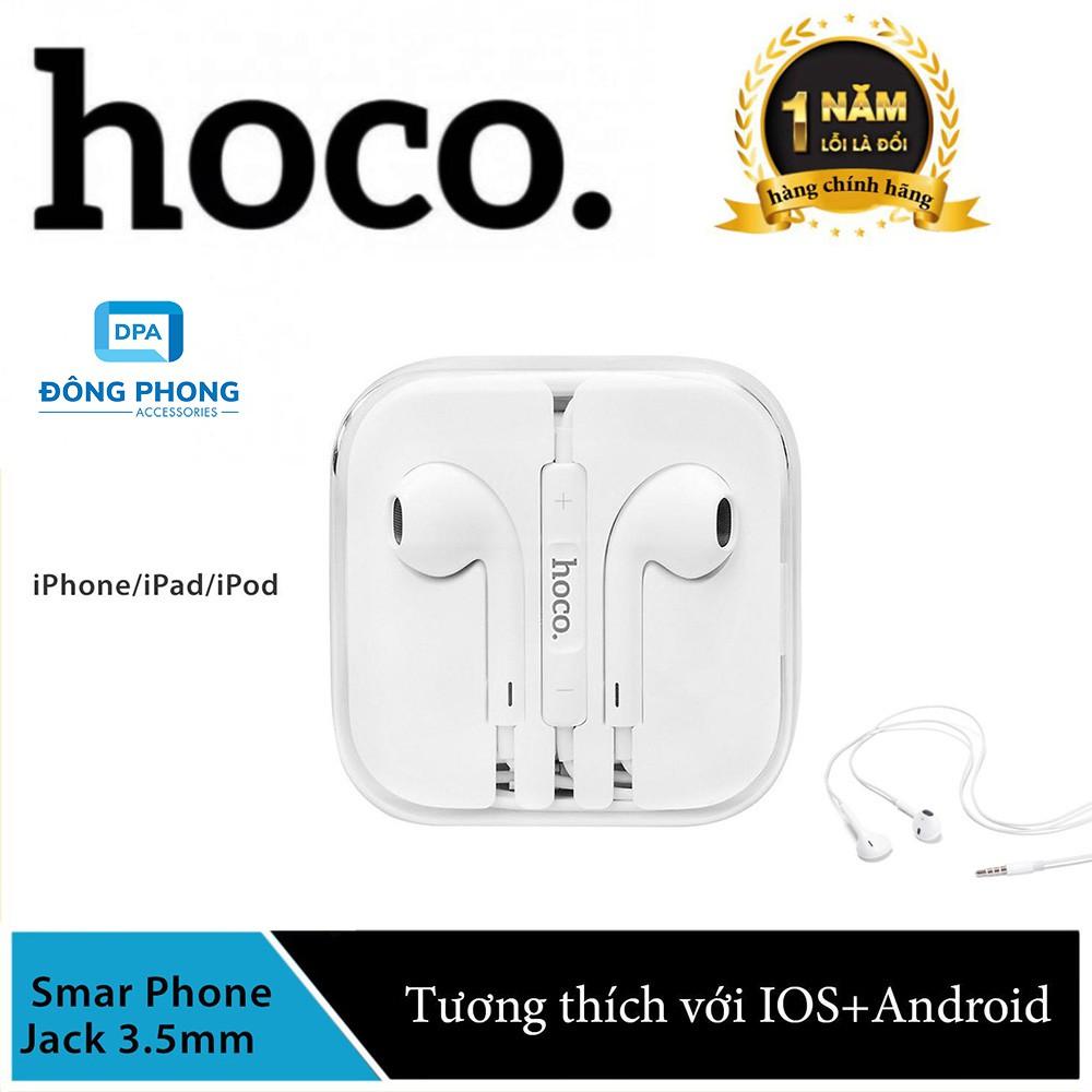 Tai nghe Hoco M1 chính hãng, tai nghe nhét tai có dây