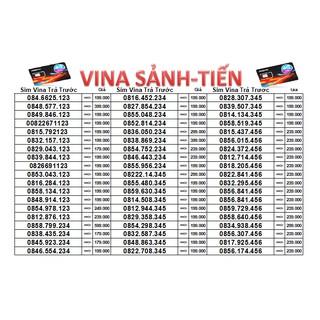 SIM VINA SẢNH TIẾN GIÁ TỪ 179K-599K