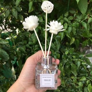 Set Tinh dầu Josmine khuếch tán hương hoa Xua tan căng thẳng thumbnail