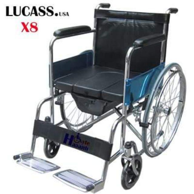 Xe Lăn Có Bô Lucass X8 hàng chất lượng cao bảo hành 6 tháng