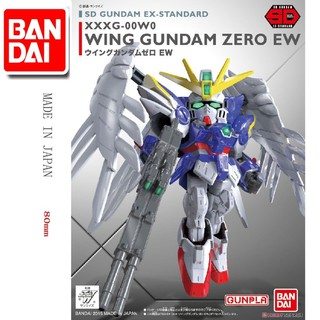 Đồ chơi Lắp ráp Mô hình Gundam Bandai SD Gundam EX-Standard Wing Gundam Zero EW Serie SD Gundam EX-Standard
