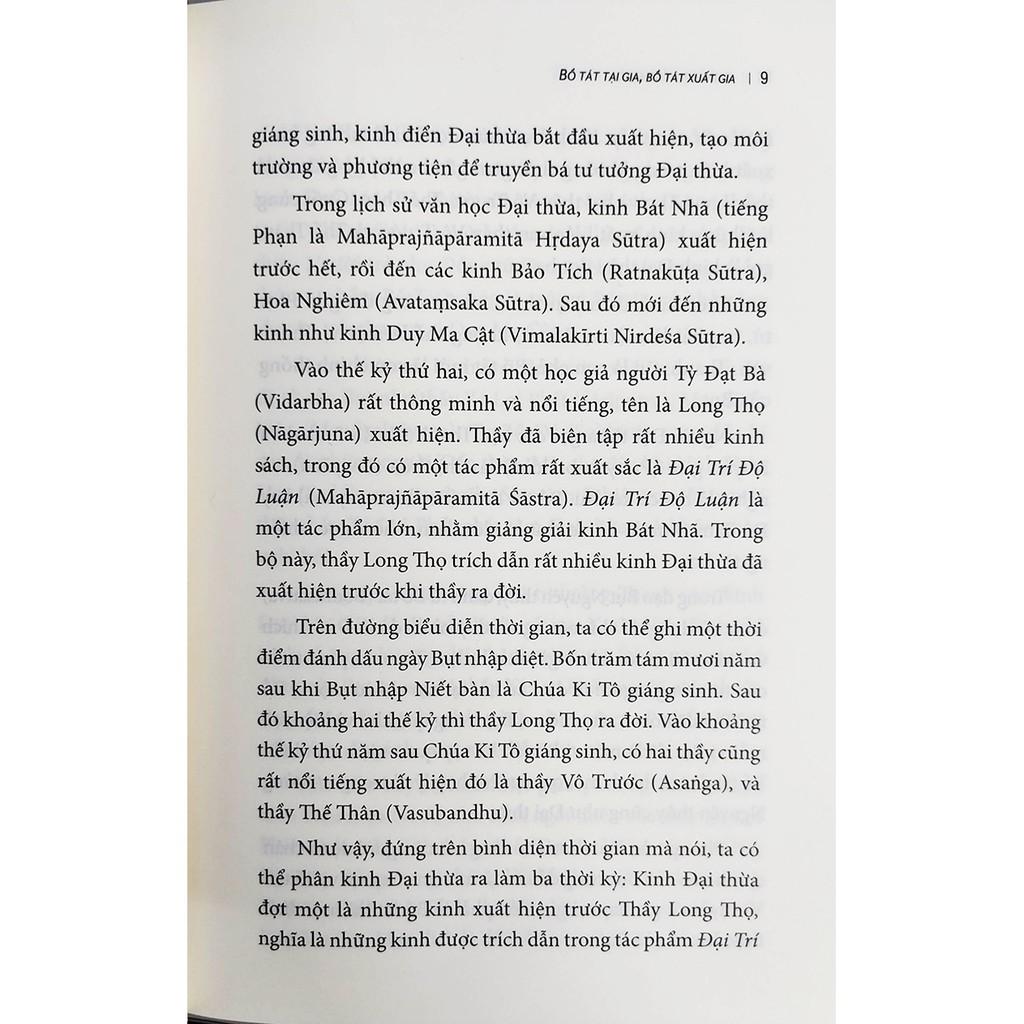 Sách - Bồ Tát Tại Gia - Bồ Tát Xuất Gia (Kinh Duy Ma Cật Giảng Luận)