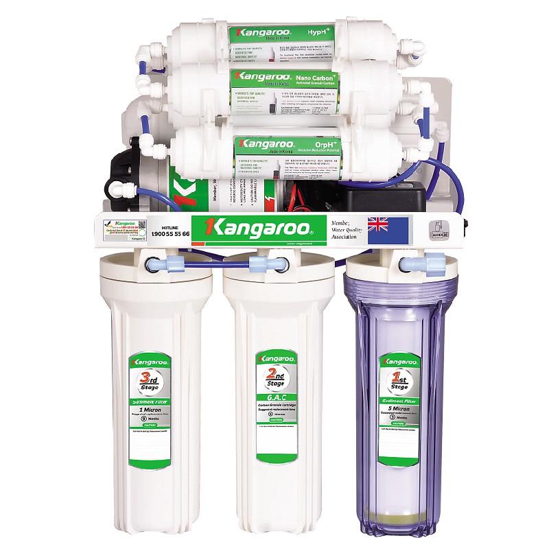 Máy lọc nước Kangaroo Hydrogen KG 100HQ- Không có tủ