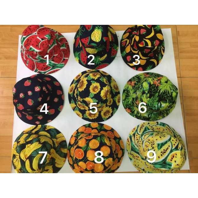 Combo 35 mũ trái cây hình lá KH Hoangvan9867