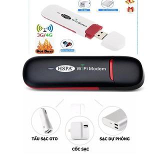 Bộ Usb Dcom phát wifi HSPA 3G 4G Chuyên Dùng Đổi IP PAKE IP Hỗ trợ khe cắm thẻ nhớ Micro SD TẶNG SIM 4G thumbnail