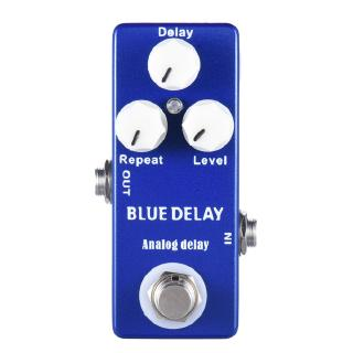 Mosky Deep Blue Delay Mini Guitar Effect Pedal True Bypass