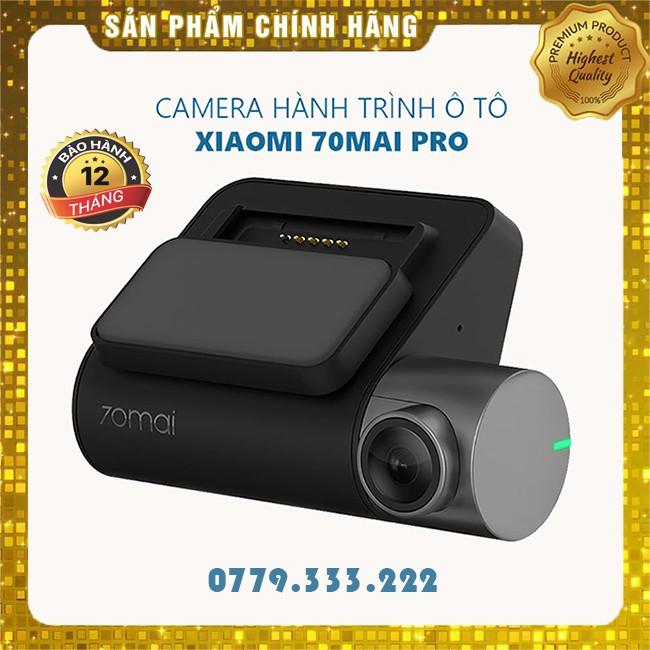 Camera Hành Trình Ô tô Xiaomi 70mai Pro Dash Cam 70 Mai Chính Hãng - BH 12 Tháng Full HD
