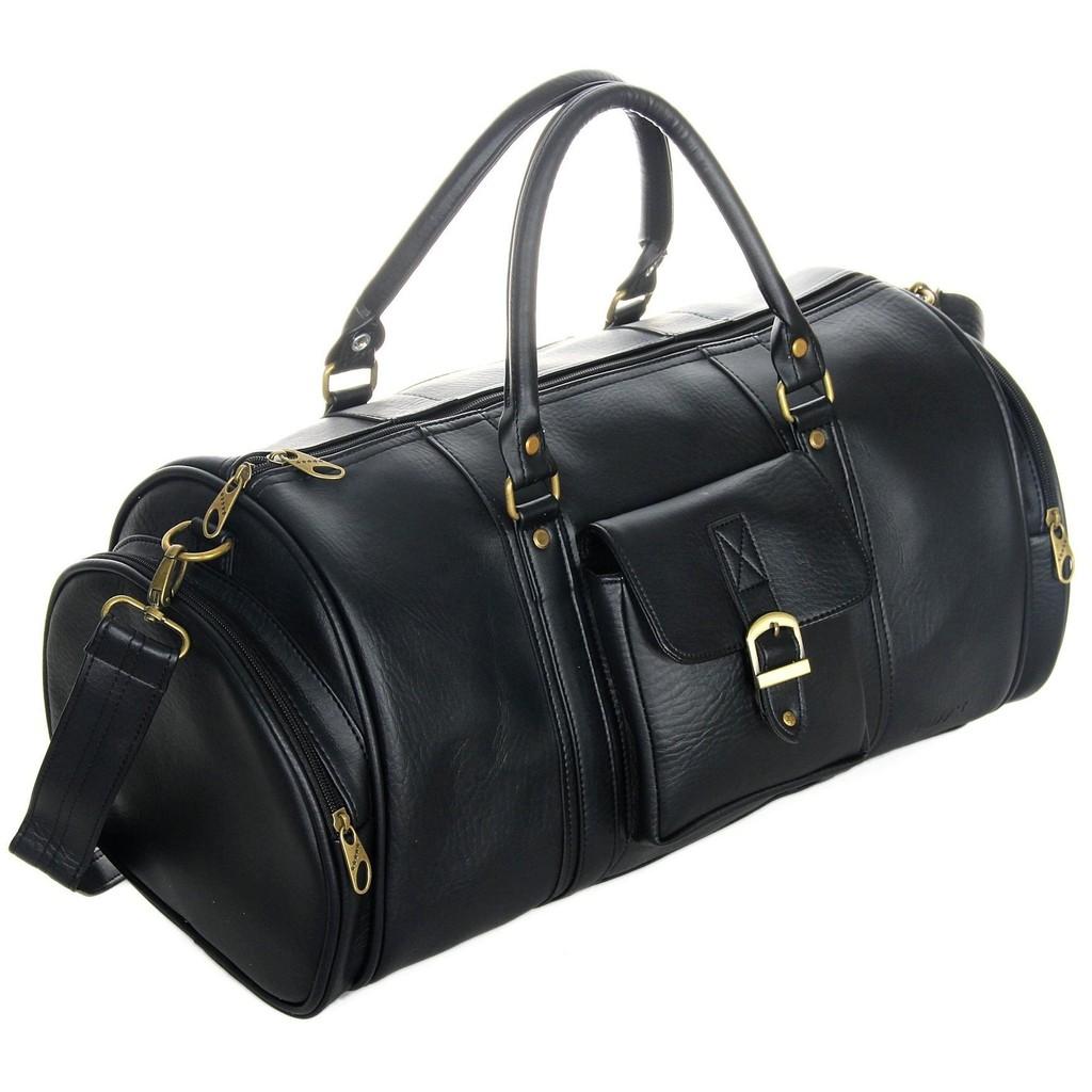 Túi du lịch CNT unisex TX20 đen phong cách thời trang Châu Âu