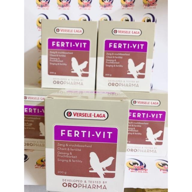 [Mã 267FMCGSALE giảm 8% đơn 500K] Vitamin hỗ trợ tăng cồ cho chim vẹt hũ nhỏ 20gr