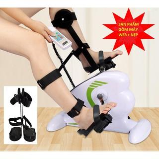 Xe đạp điện phục hồi chức năng WE3 + Nẹp chân cho người liệt