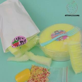 (dilysetsyslime) Khoai tây lắc phô mai – diy slime 250ml
