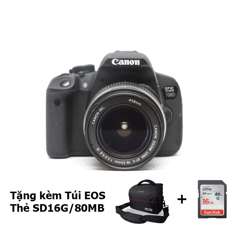 Canon 700D / Rebel T5i / Kiss X7i Kèm LENS Canon EF-S 18-55mm f/3.5-5.6 IS II