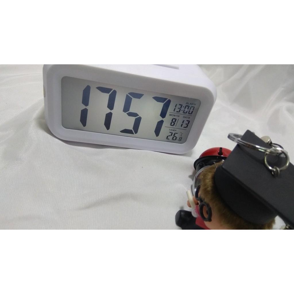 Đồng hồ Led hẹn giờ báo thức, đo nhiệt độ độ ẩm IP31141