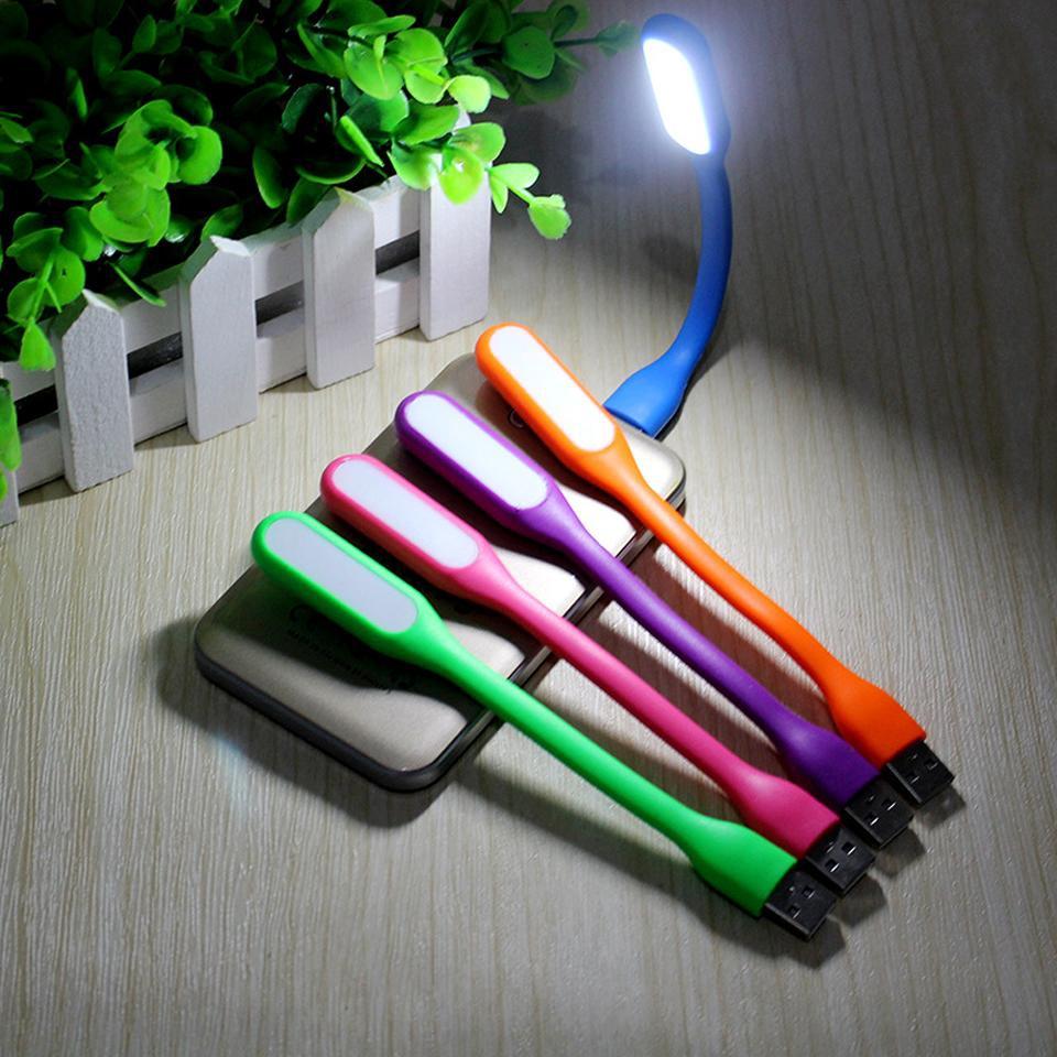 ĐÈN LED ĐỌC SÁCH GẤP GỌN CỔNG USB 5V CHUYÊN DÙNG CHO PIN DỰ PHÒNG/MÁY TÍNH XÁCH TAY/NOTEBOOK