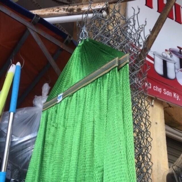 Võng lưới cán thép 50cm đơn màu- Loại thường