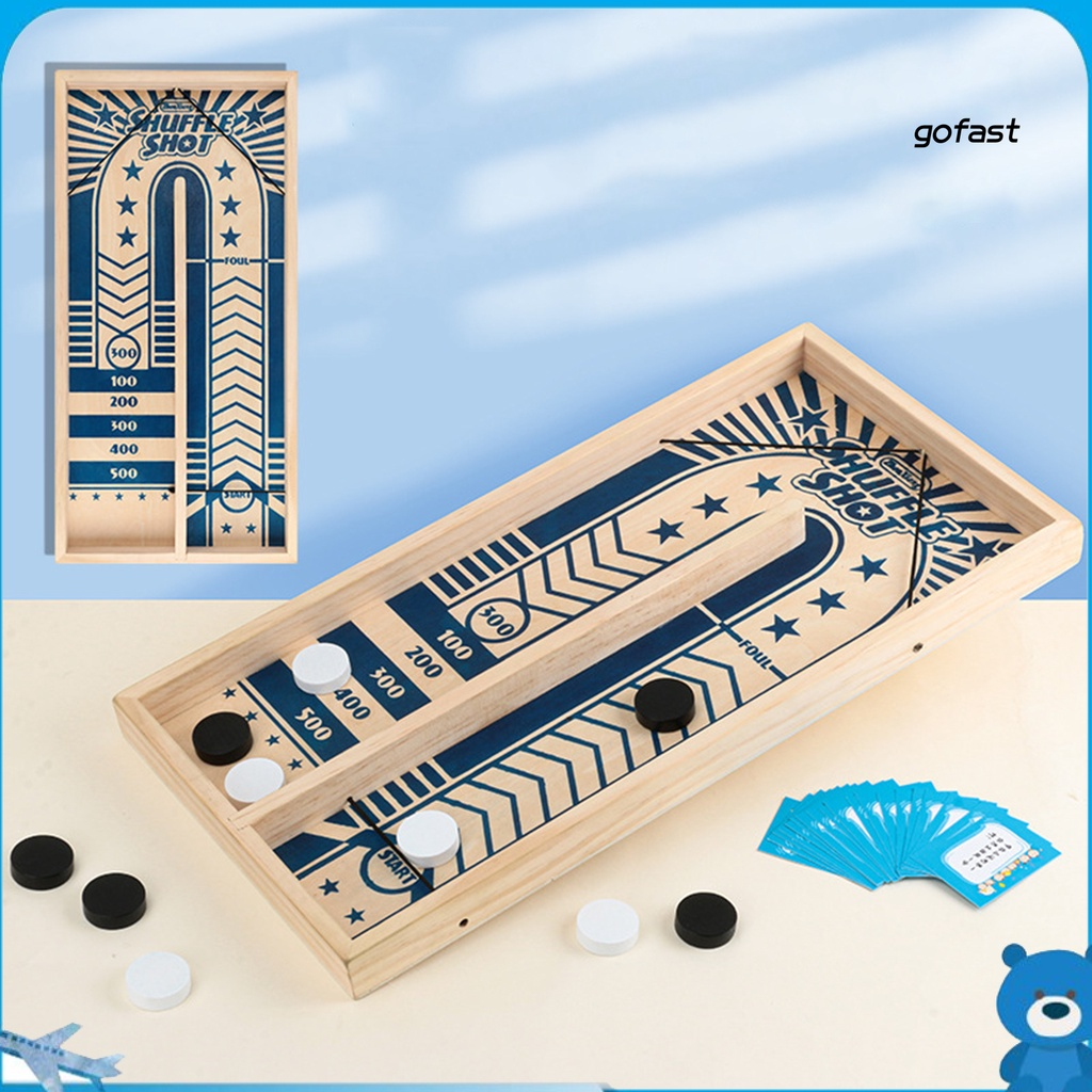 GO-Catapults Chess Interesting Parent-child Interactive Wooden Desktop Battle Catapults Bumper Chess for Family Games