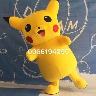 Trang Phục Hóa Trang Mascot Pikachu