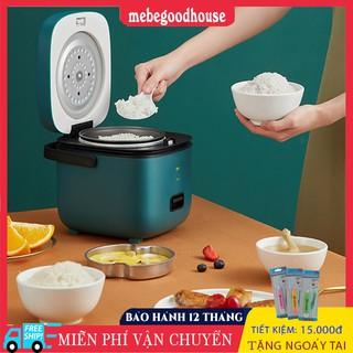Nồi cơm điện mini đa năng JASHI nấu cơm, cháo, hầm xương, luộc, hấp dành cho 1 đến 3 người ăn