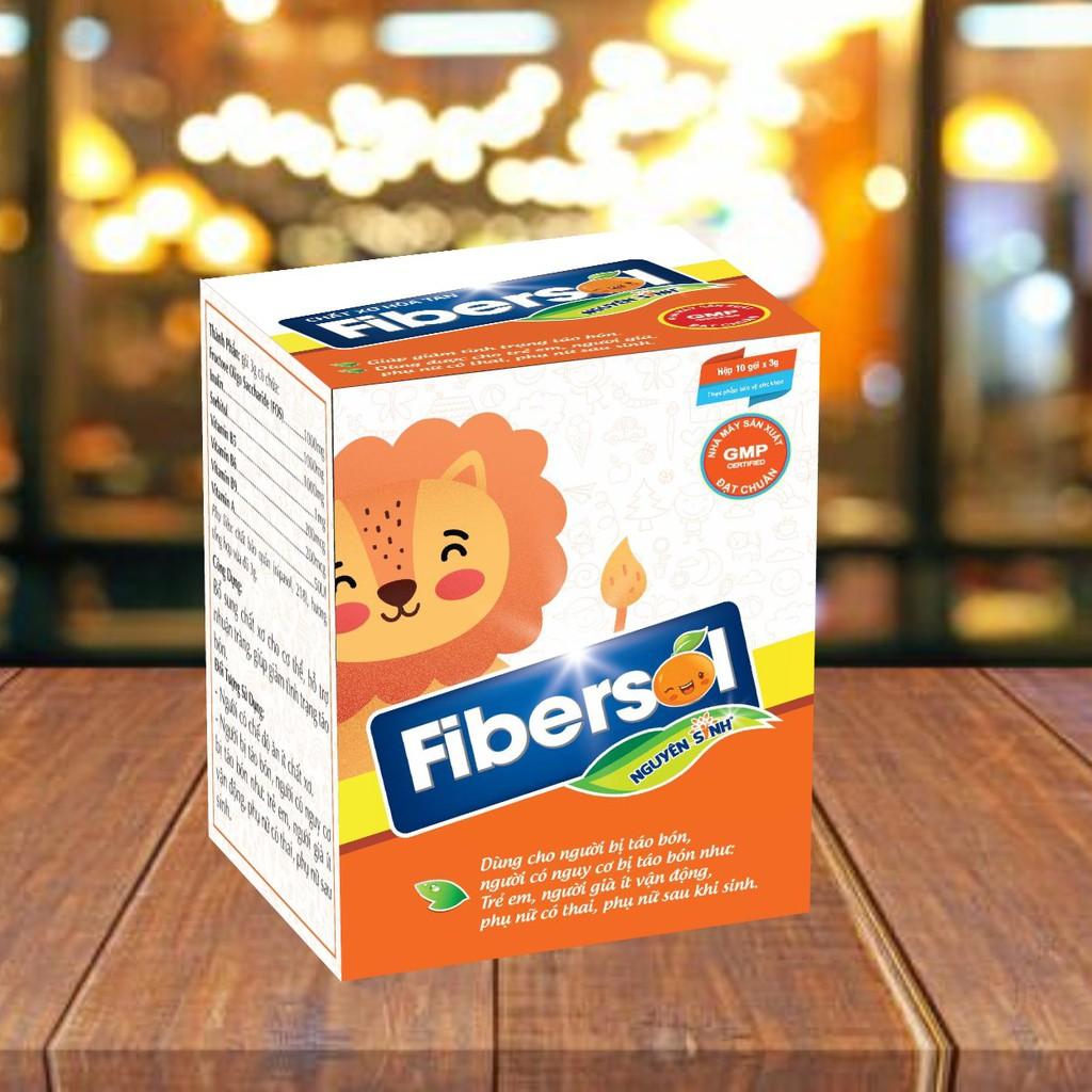 Fibersol Nguyên Sinh - Chất xơ Hòa Tan Giúp Giảm Táo Bón Cho Trẻ Sơ Sinh Và Phụ Nữ Mang Thai