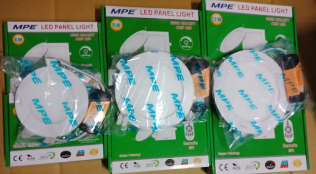 Đèn Led âm trần 12w MPE - âm trần tròn