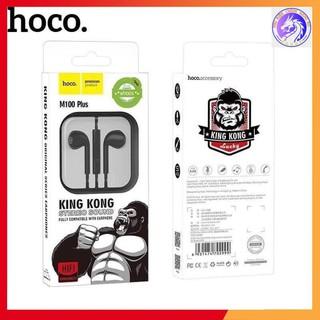 Tai Nghe Nhét Tai Hoco M100 Plus King Kong Chính Hãng - Bảo hành 3 tháng 1 đổi 1 | Tai Nghe IPhone