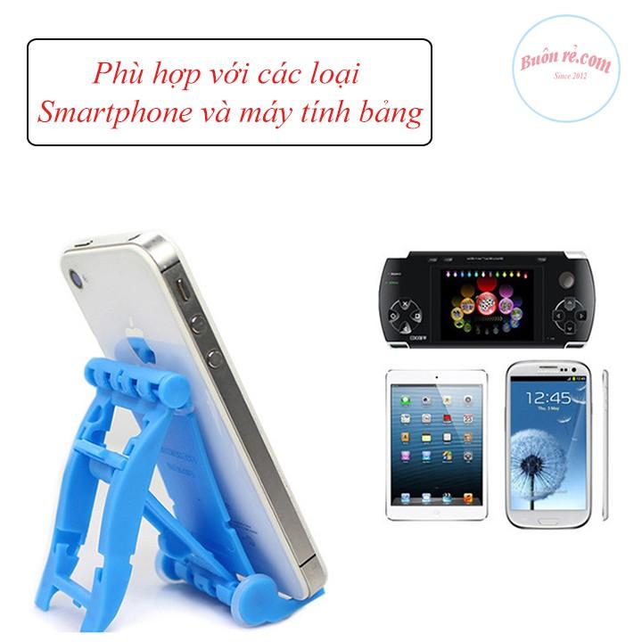 Giá đỡ điện thoại 2 nấc điều chỉnh gấp gọn đa năng Buôn Rẻ 01090