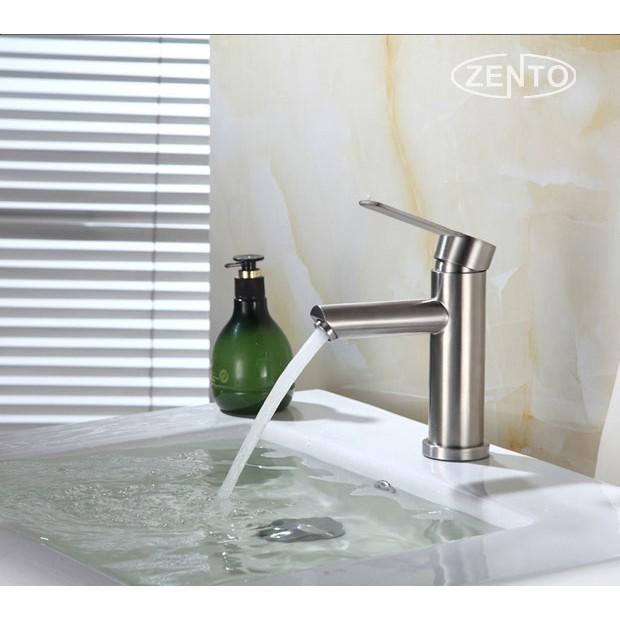 Vòi chậu lavabo nóng lạnh inox 304 Zento SUS3306 - 2881505 , 1236983098 , 322_1236983098 , 1090000 , Voi-chau-lavabo-nong-lanh-inox-304-Zento-SUS3306-322_1236983098 , shopee.vn , Vòi chậu lavabo nóng lạnh inox 304 Zento SUS3306