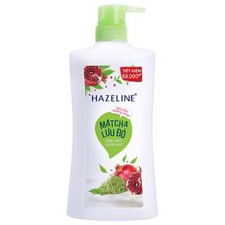 [Mã FMCGSALE giảm 5% đơn 300K] Sữa tắm dưỡng sáng da Hazeline matcha và lựu đỏ 900gr thumbnail