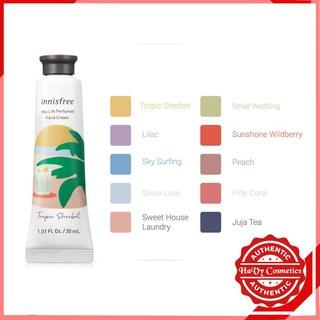 Kem Dưỡng Da Tay Hương Nước Hoa Innisfree Jeju Life Perfumed Hand Cream 30ml
