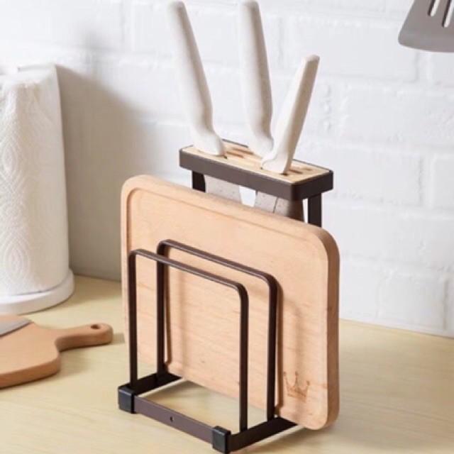 Kê, Giá cài dao thớt thép sơn tĩnh điện nhỏ tiện dụng hàng đẹp chắc chắn