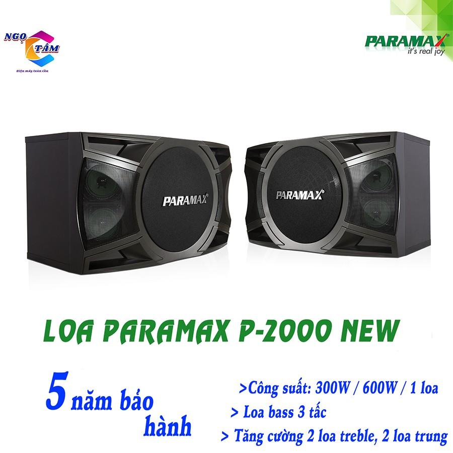 Loa PARAMAX P-2000 NEW - Hàng Chính Hãng