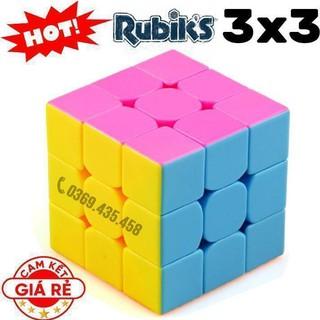 Đồ chơi Rubik 3×3×3 Đẹp, Xoay Trơn, Không Kẹt, Không Rít