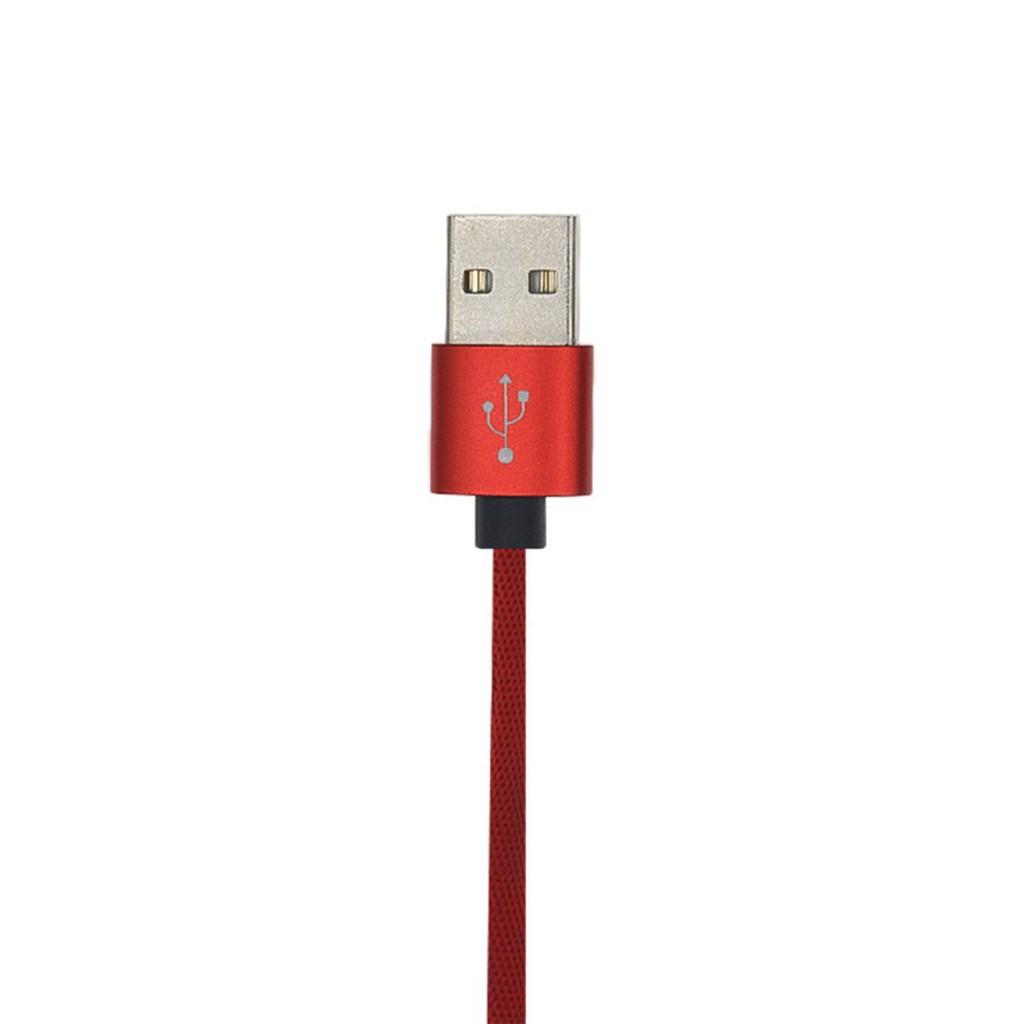 Dây cáp sạc USB bọc nylon 90 độ cho iPhone 8Pin 1.2m