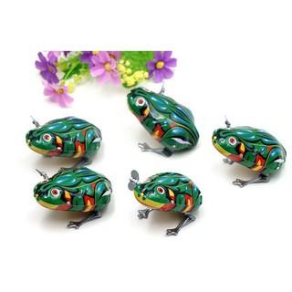 Đồ chơi ếch vặn dây cót bằng kim loại