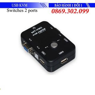 USB KVM Switches 2 ports MT- VIKI (Đen) thumbnail