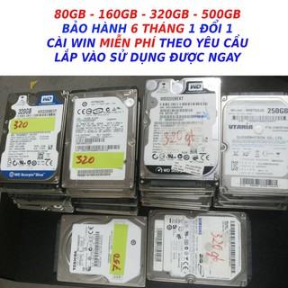 Ổ cứng laptop 500GB 250GB 160Gb 120GB HDD 160gb HDD 120GB HDD 250GB HDD 500GB hàng kho rã máy bảo hành 6 tháng thumbnail