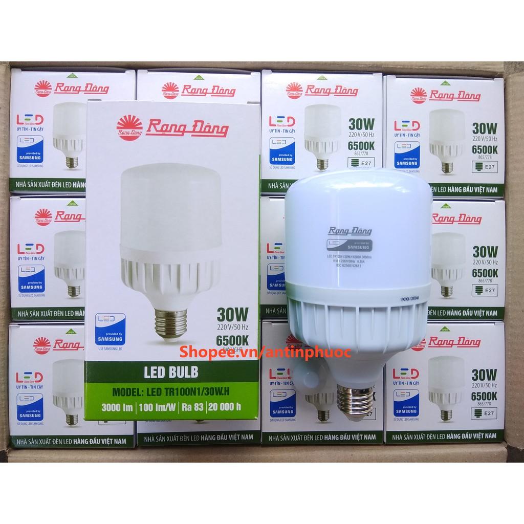 Bóng đèn LED Rạng Đông 30w - Led trụ 30w Rạng Đông tiết kiệm điện