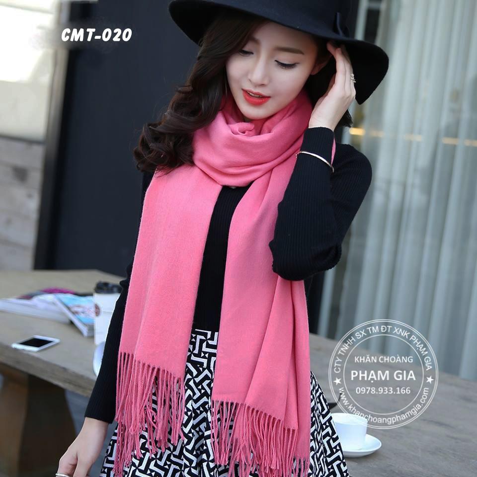 khăn quàng cổ kiểu Hàn cashmere cao cấp siêu đẹp