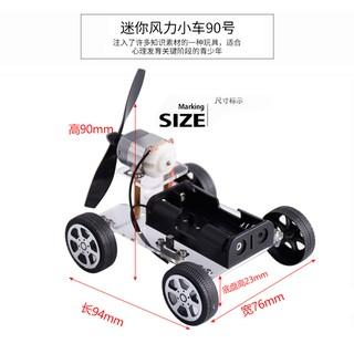 bộ lắp ráp mô hình xe hơi tự làm cho bé