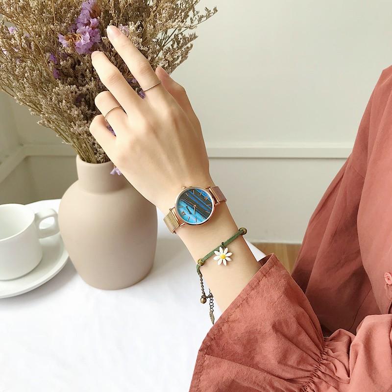 đồng hồ đeo tay kiểu dáng đơn giản thời trang cho nữ - 14150776 , 2507932411 , 322_2507932411 , 236300 , dong-ho-deo-tay-kieu-dang-don-gian-thoi-trang-cho-nu-322_2507932411 , shopee.vn , đồng hồ đeo tay kiểu dáng đơn giản thời trang cho nữ