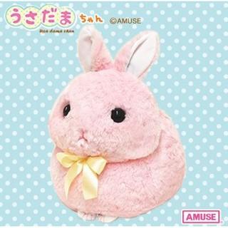 Thỏ bông Amuse Usadama hồng – gấu bông chính hãng Nhật Bản