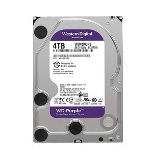Ổ CỨNG HDD WD 4TB PURPLE - Hàng chính hãng