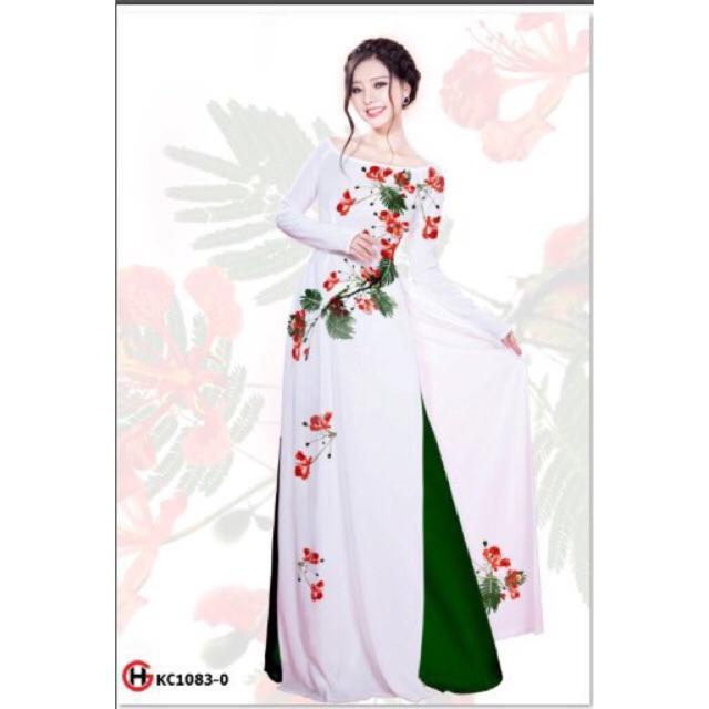 Vải áo dài hoa phượng - 2993545 , 1139035967 , 322_1139035967 , 230000 , Vai-ao-dai-hoa-phuong-322_1139035967 , shopee.vn , Vải áo dài hoa phượng