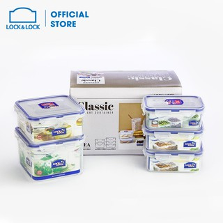 Bộ 5 hộp bảo quản L&L Classic (HPL806x2, HPL806Cx1, HPL854x1, HPL855x1) HPL855S5 thumbnail
