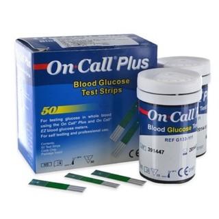 Que thử đường huyết On Call Plus (hộp 50 que) thumbnail