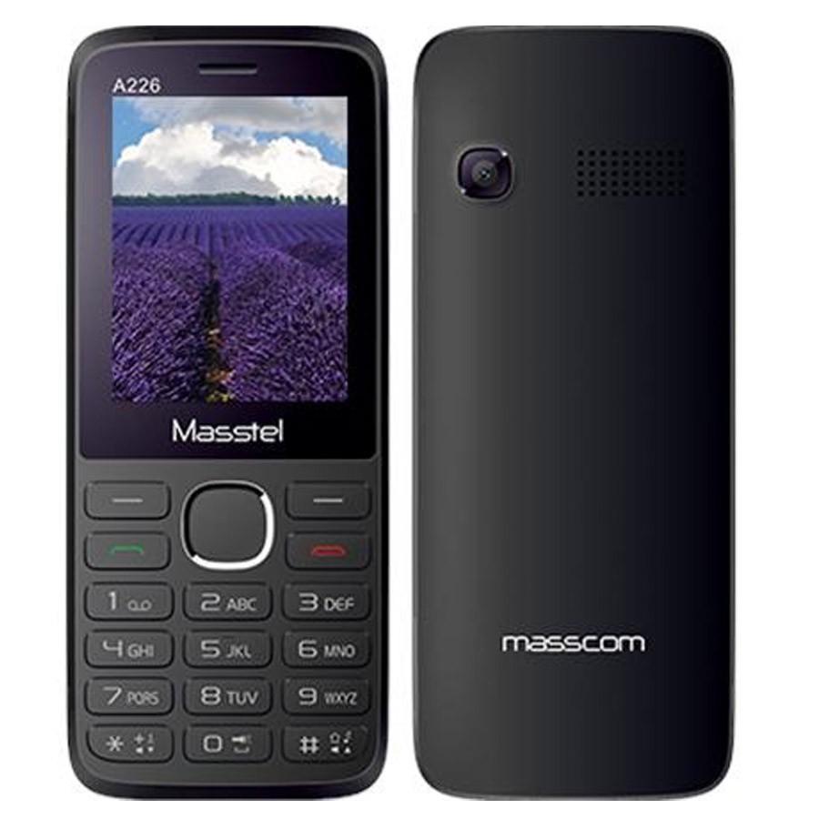 ĐTDĐ Masstel A226 2 SIM (Đen)