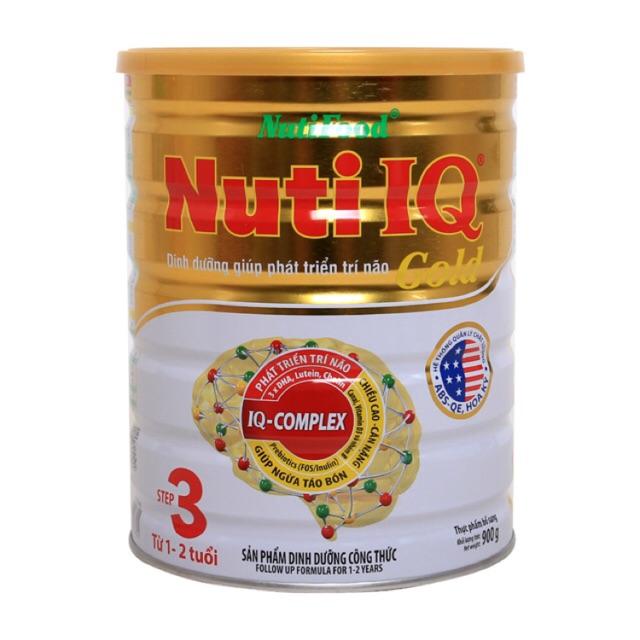 Combo 2 hộp Nuti IQ Gold Step 3 loại 900g