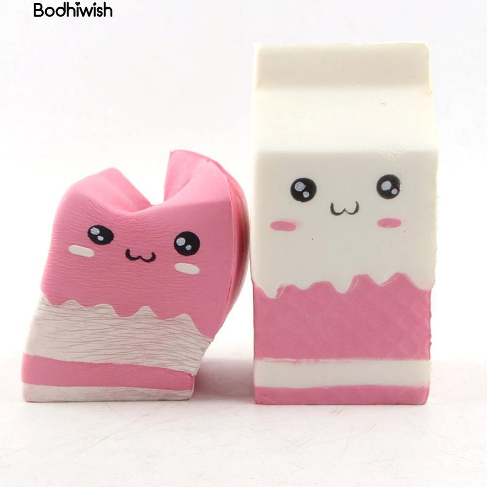 Đồ chơi Squishy hình hộp sữa xịn